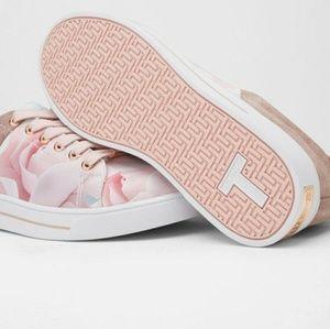 Ted Baker Eyewo floral print sneakers
